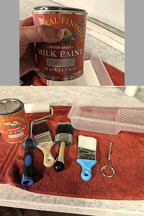 General Finishes Milk Paint and  Foam Rollers and Other Paint Supplies