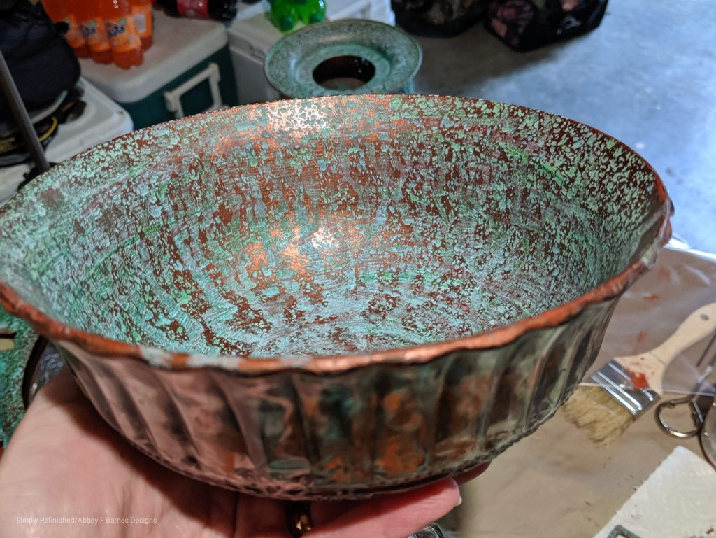 How to use Patina on Metal