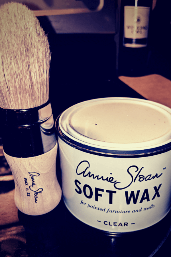 Annie Sloan Clear Wax Topcoat for Chalk Paint