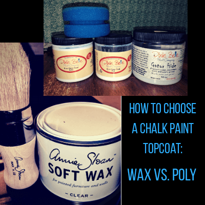 How To Choose A Chalk Paint Topcoat