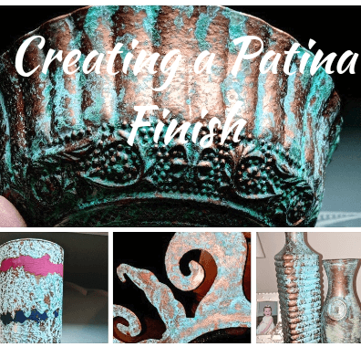 How To Use Patina Paint To Easily Create An Aged Patina Finish
