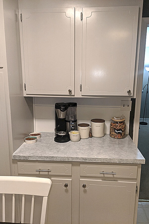 Kitchen Cabinets Updated With General Finishes Milk Paint