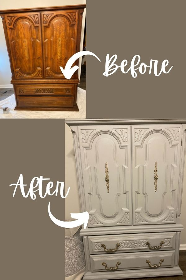 Before And After Silk Paint