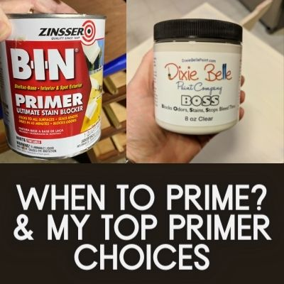 When To Prime & My Top Primer Choices