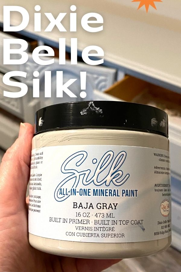 Baja Gray Silk paint