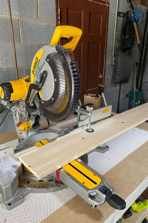 Dewalt Miter Saw - An Investment But I use it often