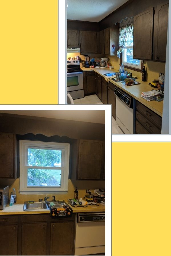 Harvest gold Laminate Countertops