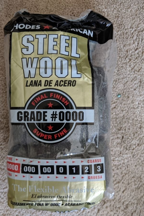 Steel Wood Grade 0000 Pads