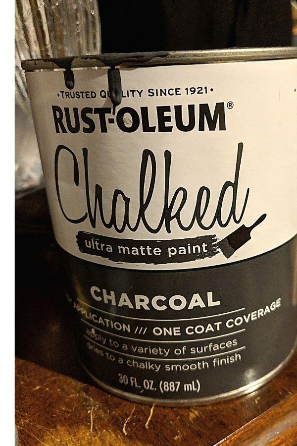 Rust-oleum Chalked Finish Paint