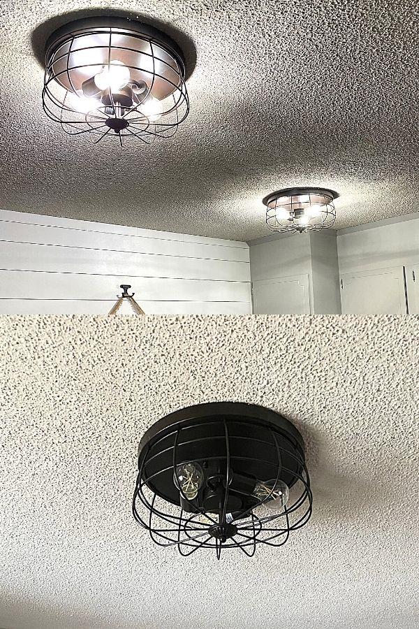 New flush-mount ceiling light fixtures