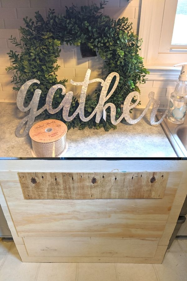 Supplies For A Gather Sign