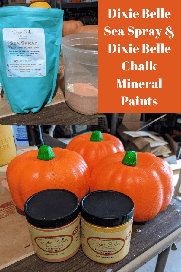 Painted Dollar Tree Foam Pumpkins