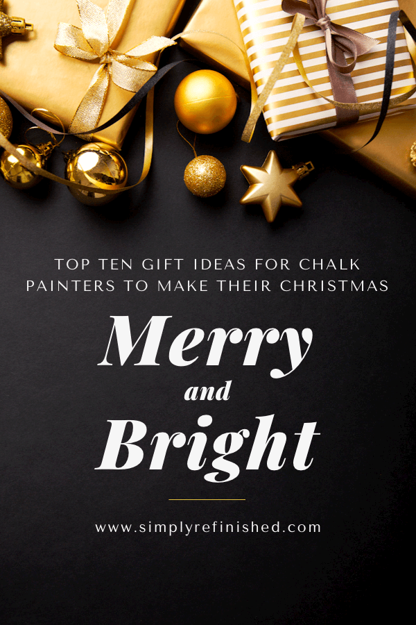 Top Ten Christmas Gift Ideas For Chalk Painters