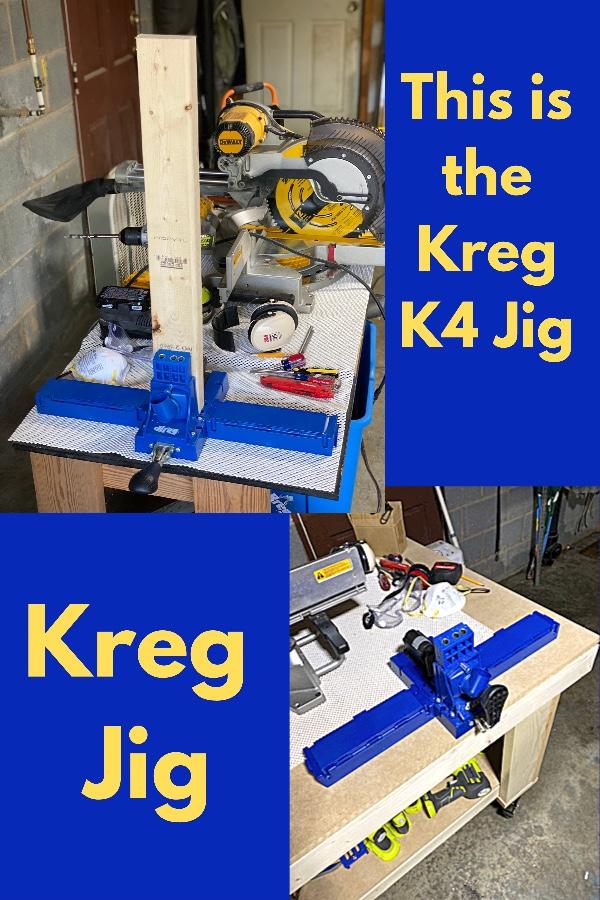 Kreg Jig K4 works great for building the DIY Herb Planter Box