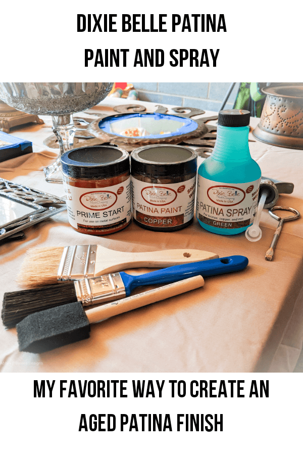 How To Use Patina Paint To Create An Aged Finish