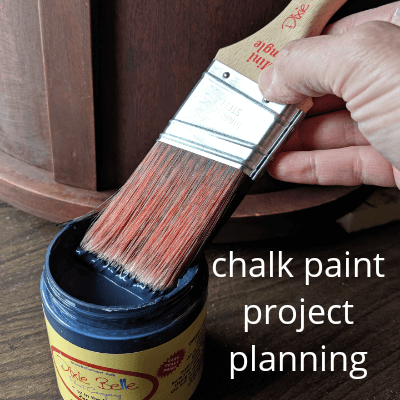 Chalk Paint Project Planning