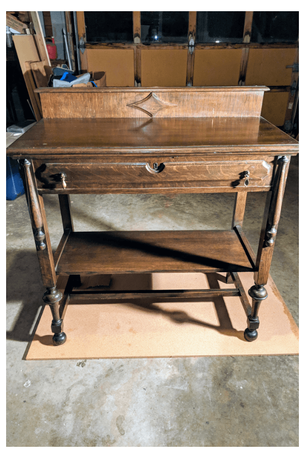 Antique Table Makeover